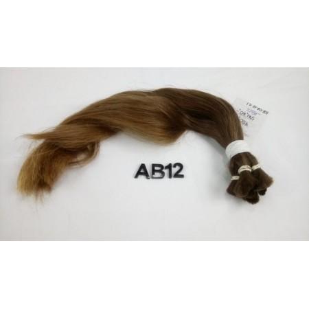 Włosy dziewicze jasny brąz dł. 40 cm, 88 gram