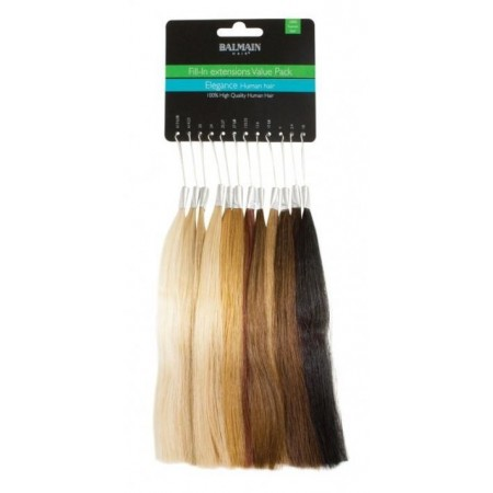 Próbnik kolorów fill in valuepacks & human hair tails