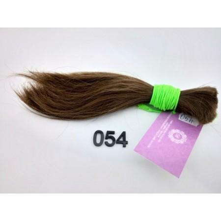 Włosy dziewicze jasny brąz dł. 22 cm, 64 gram