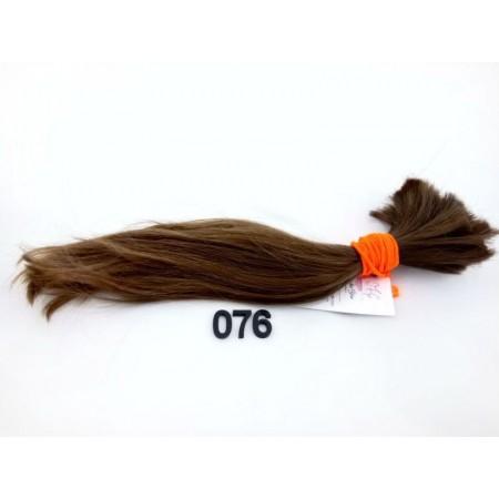 Włosy dziewicze jasny brąz dł. 29 cm, 69 gram