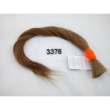 Włosy dziewicze rudy dł. 60 cm, 87 gram