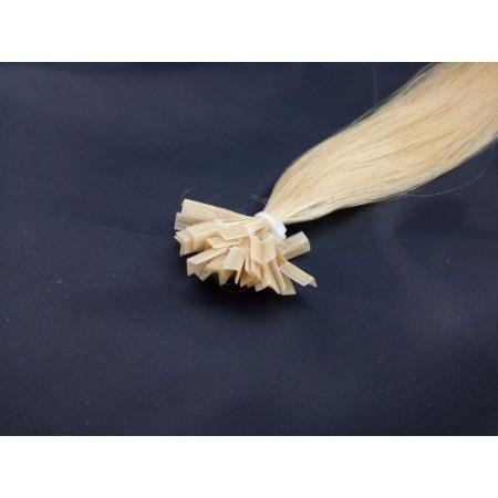 Ciemny blond kolor nr 18 40 cm, końcówka V