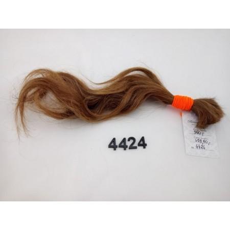 Włosy dziewicze rudy dł. 39 cm, 43 gram