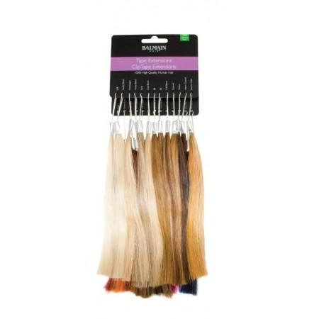 Colorring Fill-In Extensions Paleta kolorów Balmain Fill-In Extensions (pasemka na keratynie włosy naturalne i syntetyczne)