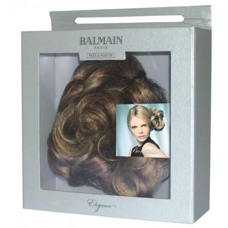 Bordeaux curl clip short Dopinka Balmain Hair Elegance Bordeaux