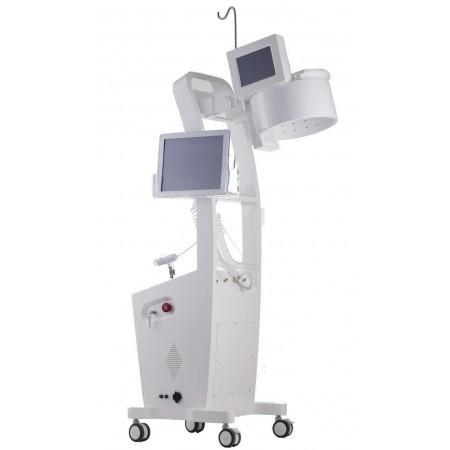 Kompleksowy system do analizy, laserowej terapii oraz oksydacji skóry głowy i włosów