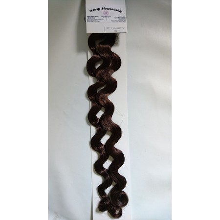 Włosy naturalne słowiańskie kręcone 51 i 55 cm