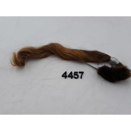 Włosy dziewicze jasny brąz dł. 40 cm, 41 gram