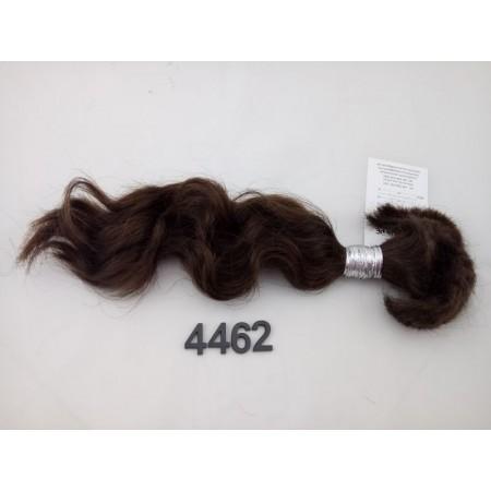 Włosy dziewicze średni brąz dł. 35 cm, 56 gram