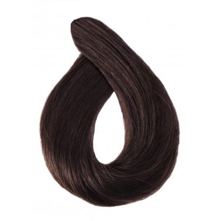 Włosy falowane kolor 2 ciemny brąz