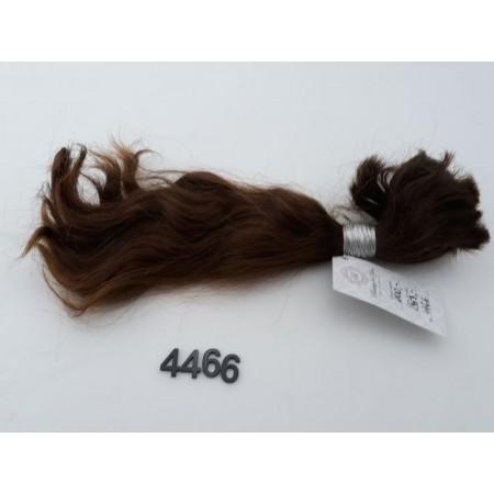 Włosy dziewicze średni jasny brąz dł. 37 cm, 137 gram