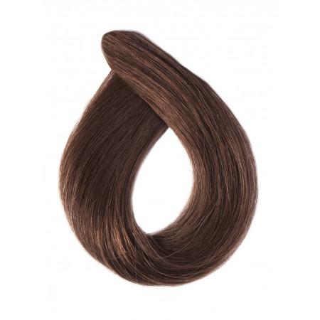 Włosy falowane kolor 6 jasny  brąz