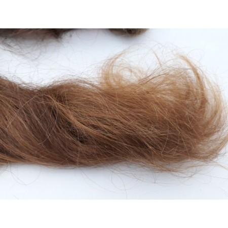 Włosy dziewicze rudy dł. 105 cm, 235 gram