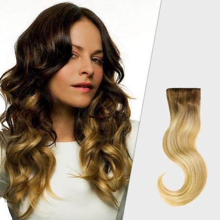 Double hair ombre włosy na taśmach
