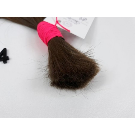 Włosy dziewicze jasny brąz dł. 42 cm, 56 gram