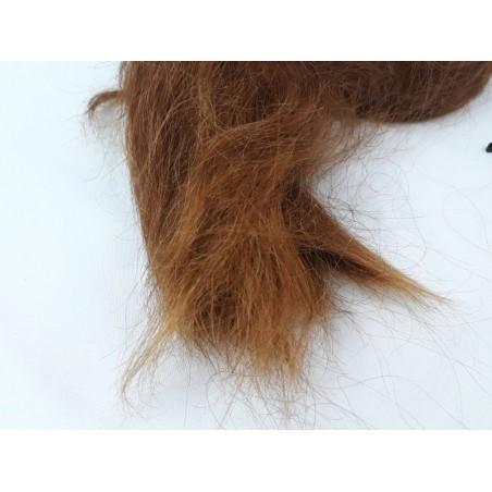 Włosy dziewicze rudy dł. 62 cm, 325 gram