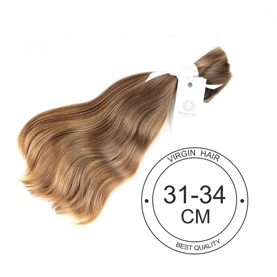 Virgin hair 31 cm to 34 cm