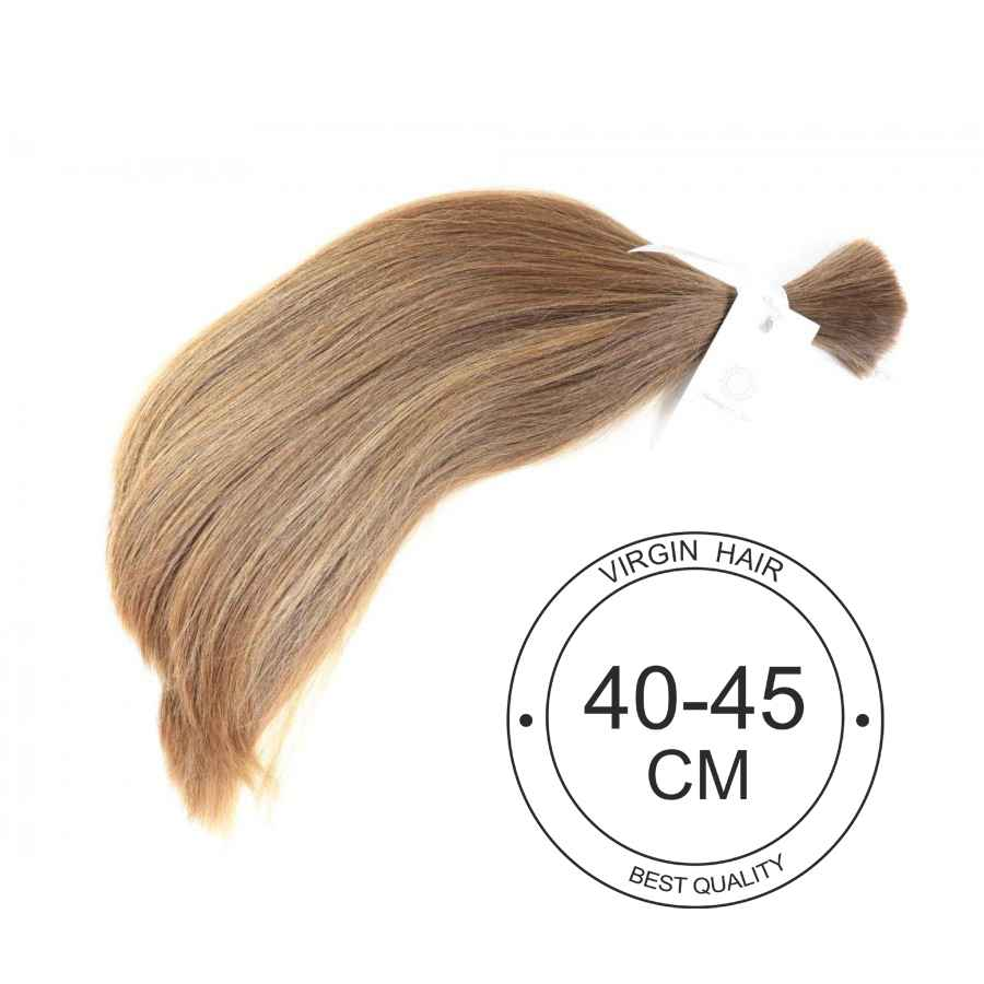 Virgin hair 40 cm to 45 cm