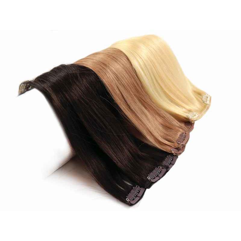 włosy na klipsach